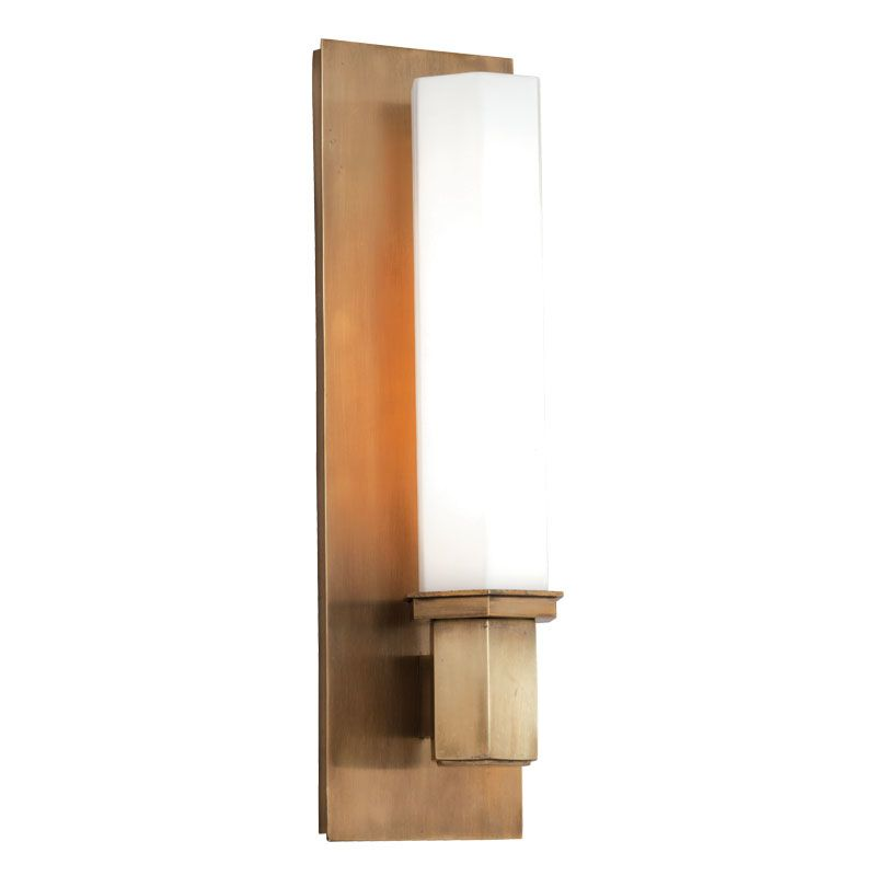 Hudson Valley 320-AGB Aged Brass Contemporary Walton Bathroom Light