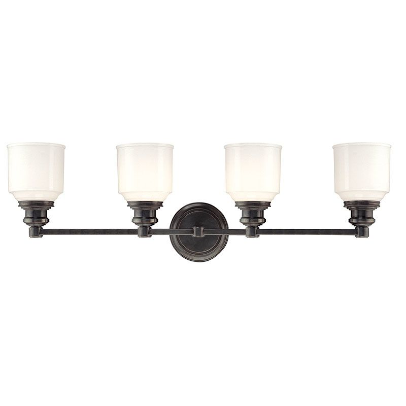 Hudson Valley Lighting 3404 Four Light Wall Sconce from the Windham Sale $450.00 ITEM: bci982520 ID#:3404-OB UPC: 806134096656 :
