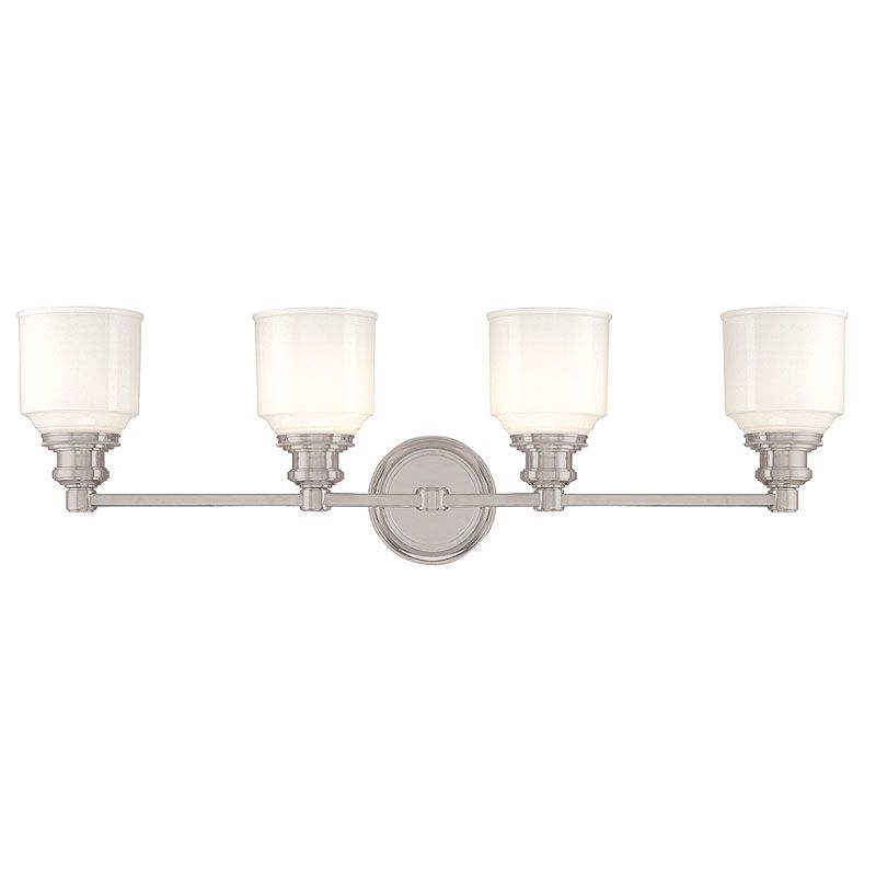 Hudson Valley Lighting 3404 Four Light Wall Sconce from the Windham Sale $450.00 ITEM: bci982521 ID#:3404-SN UPC: 806134096670 :