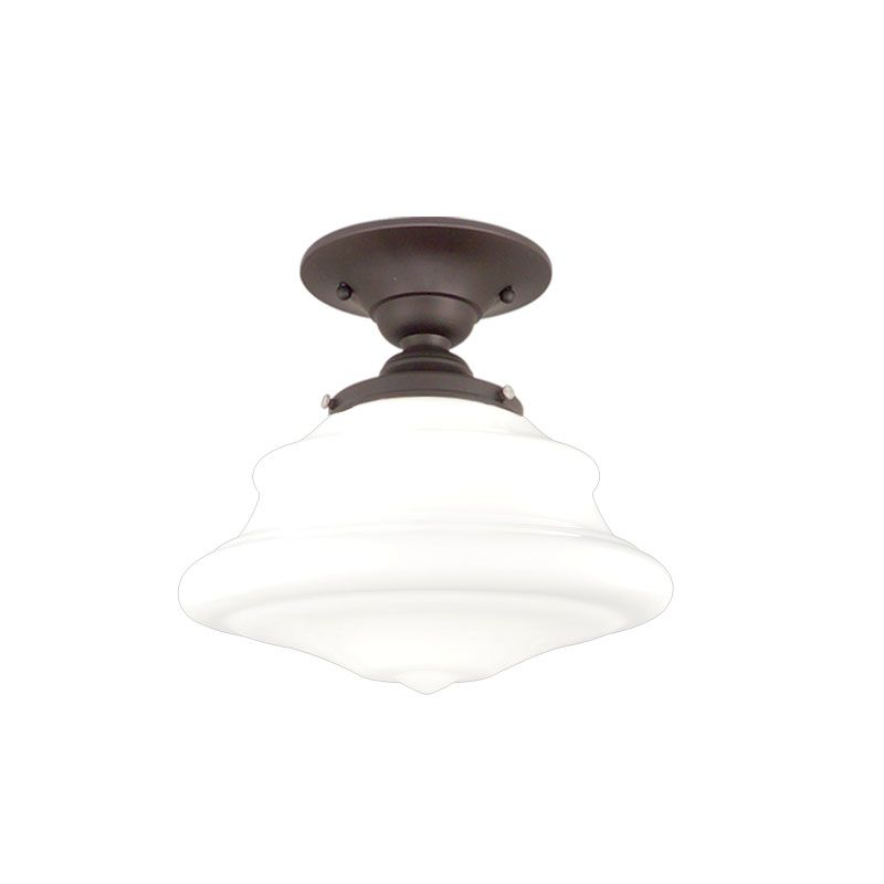 Hudson Valley Lighting 3409F One Light Semi Flush Ceiling Fixture from Sale $179.00 ITEM: bci984403 ID#:3409F-OB UPC: 806134023201 :