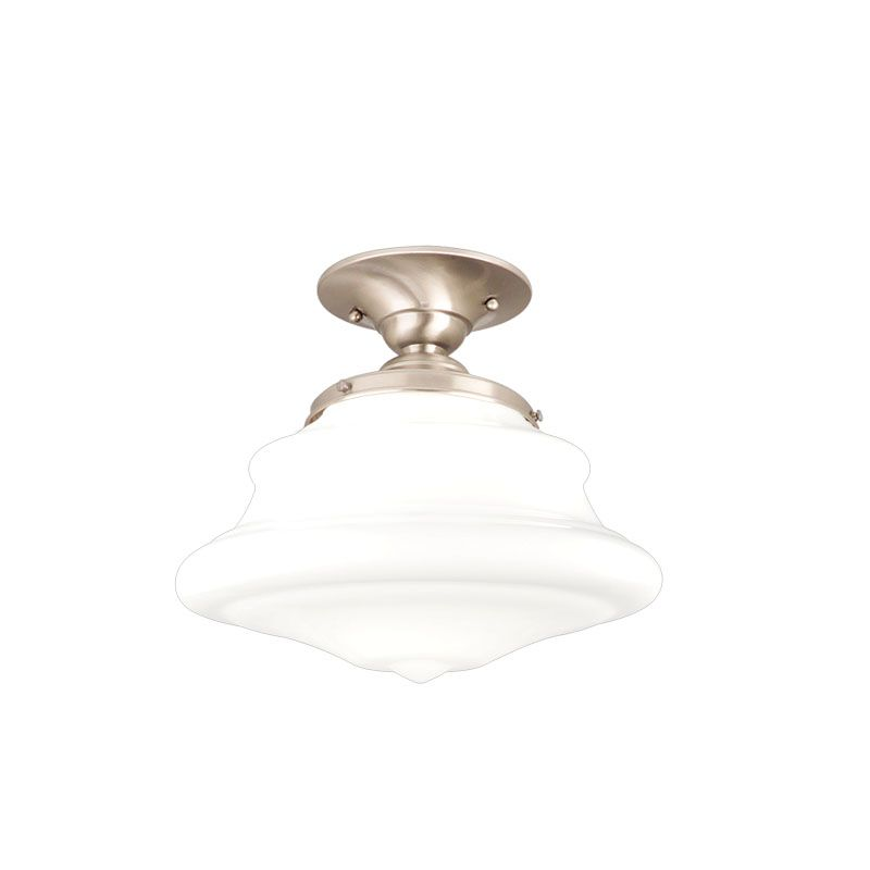 Hudson Valley Lighting 3409F One Light Semi Flush Ceiling Fixture from Sale $179.00 ITEM: bci984405 ID#:3409F-SN UPC: 806134018993 :