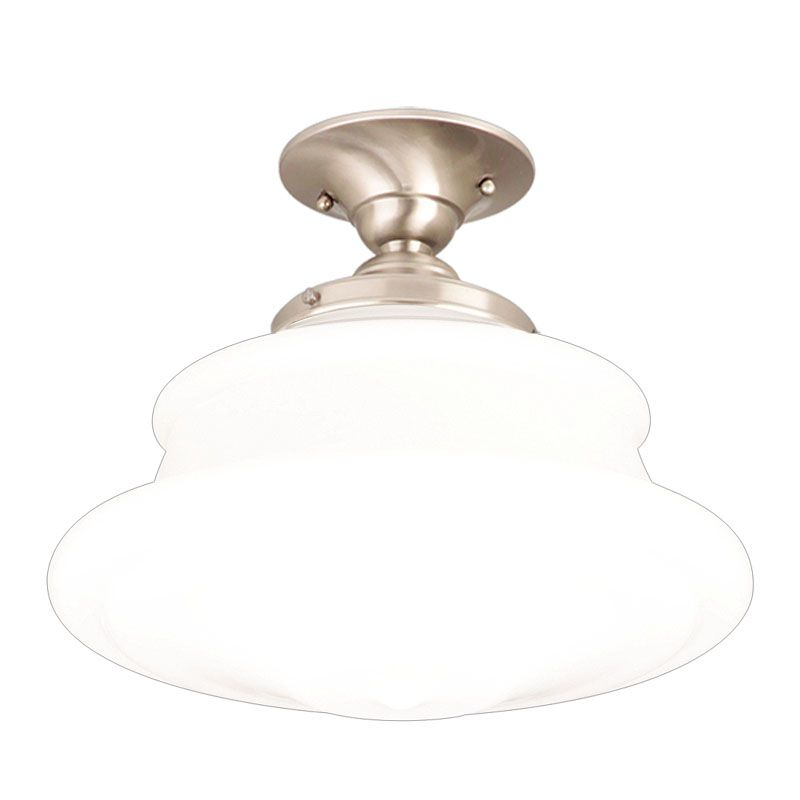 Hudson Valley Lighting 3412F Single Light Semi Flush Ceiling Mount