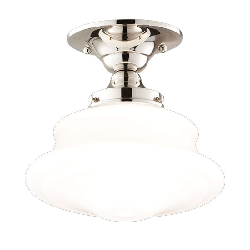 Hudson Valley Lighting 3416F Single Light Semi Flush Ceiling Mount Sale $279.00 ITEM: bci525010 ID#:3416F-PN UPC: 806134023348 :