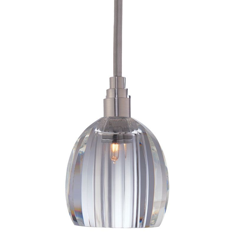 Hudson Valley 3511-SN-S-004 Satin Nickel Contemporary Naples Pendant
