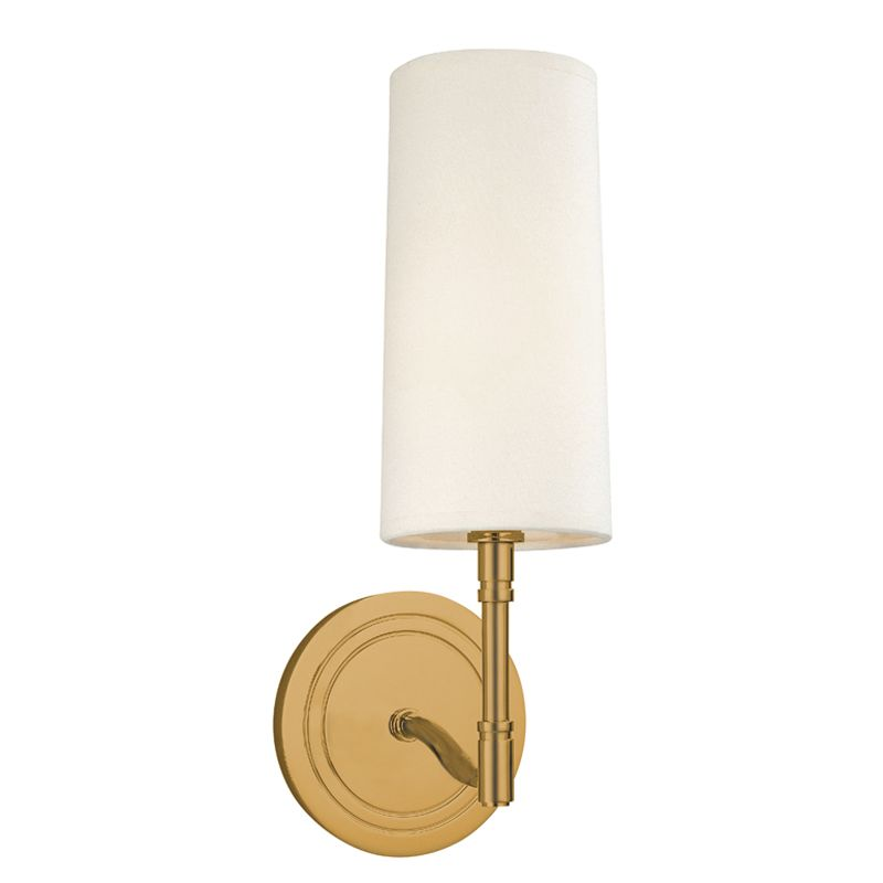 Hudson Valley Lighting 361 One Light Wall Sconce from the Dillion Sale $236.00 ITEM: bci982159 ID#:361-AGB UPC: 806134102074 :