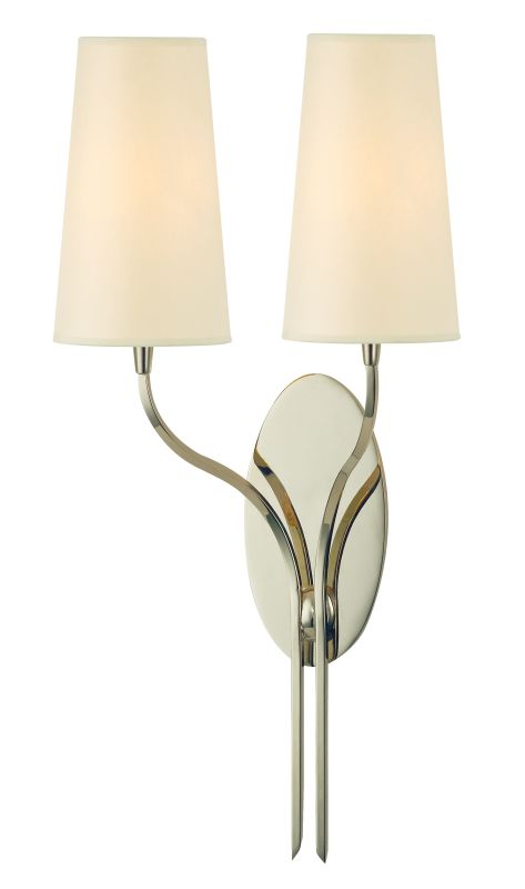 Hudson Valley Lighting 3712 Rutland 2 Light Wall Sconce Polished
