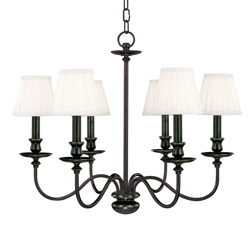 Hudson Valley Lighting 4036 Six Light Chandelier from the Menlo Park Sale $1178.00 ITEM: bci524828 ID#:4036-OB UPC: 806134008475 :