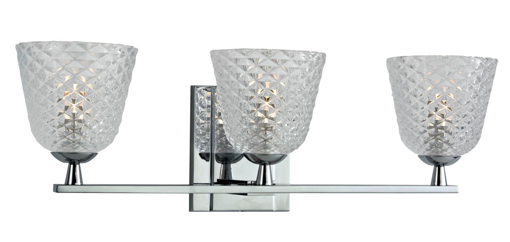 Hudson Valley Lighting 4063 Grafton 3 Light Xenon Bathroom Vanity