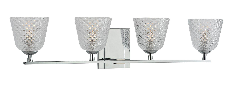 Hudson Valley Lighting 4064 Grafton 4 Light Xenon Bathroom Vanity