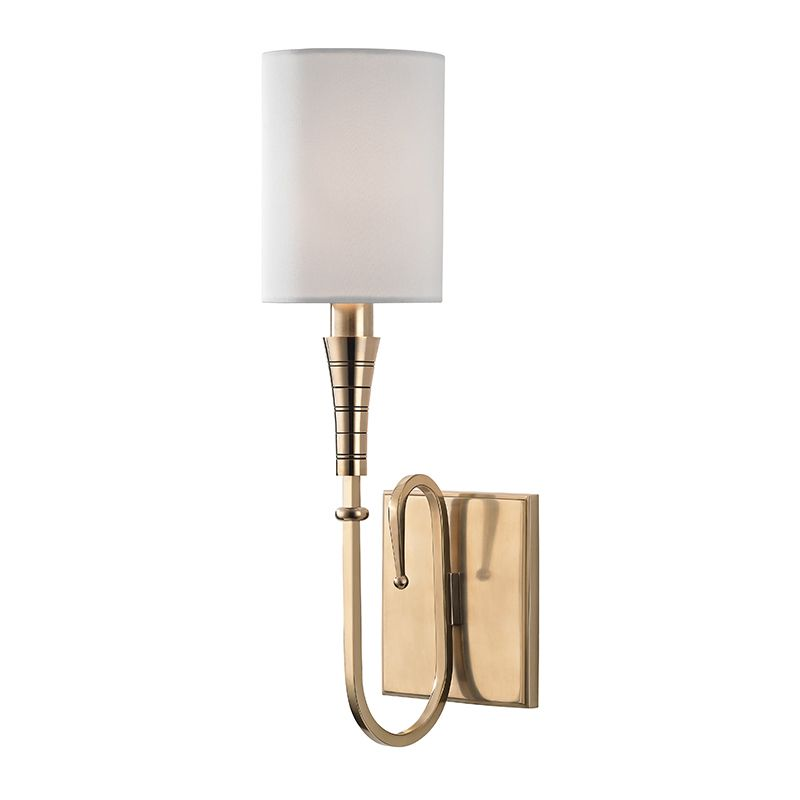 "Hudson Valley Lighting 4091 Kensington Single Light 15"" Tall Wall"