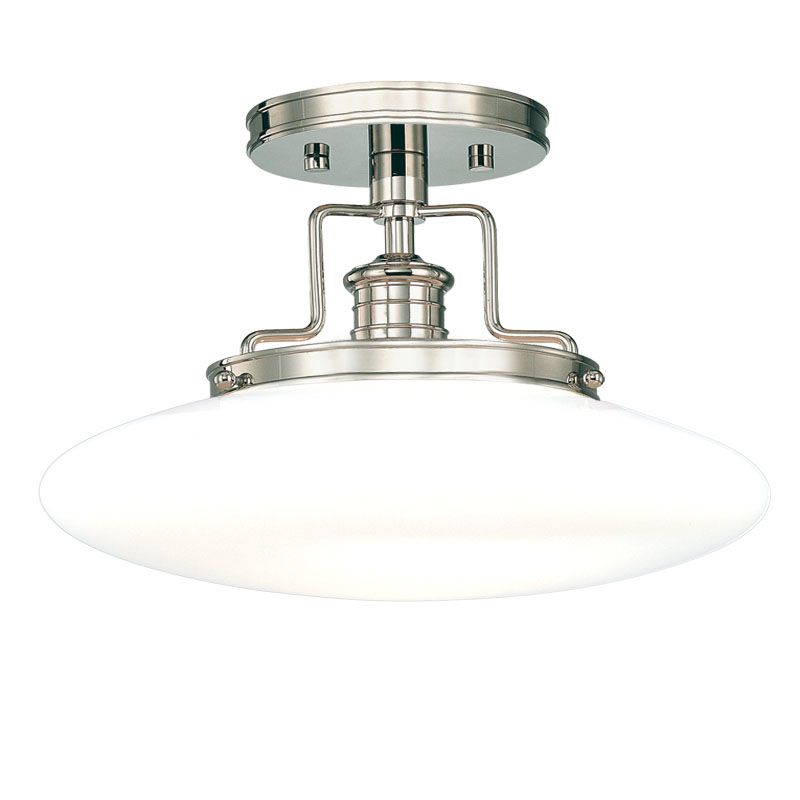 Hudson Valley 4205-PN Polished Nickel Industrial Beacon Ceiling Light