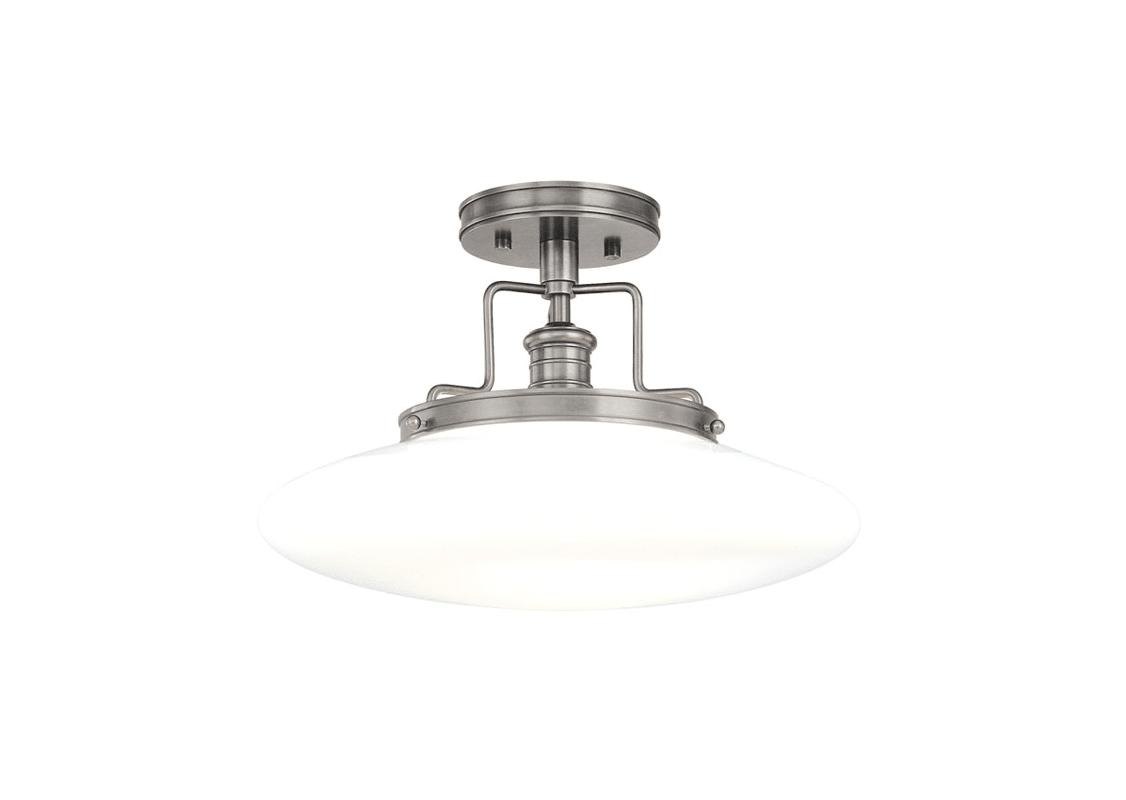 Hudson Valley 4205-SN Satin Nickel Industrial Beacon Ceiling Light