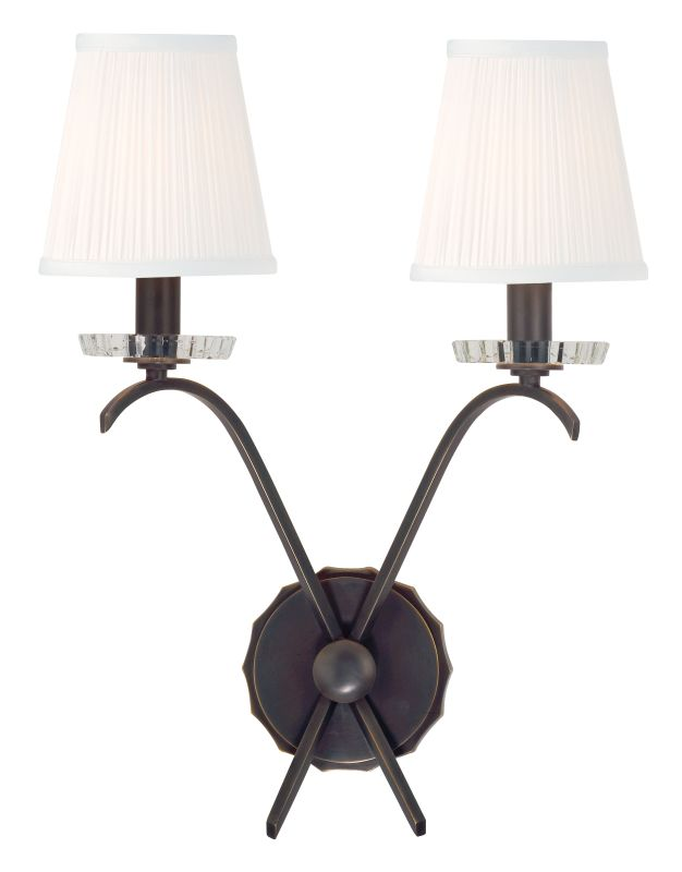 Hudson Valley Lighting 4482 Clyde 2 Light Wall Sconce Old Bronze