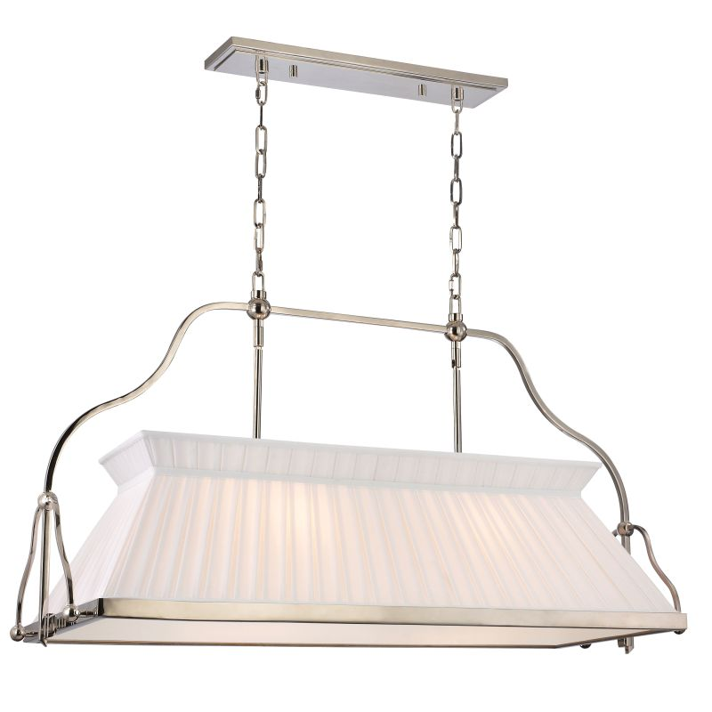 Hudson Valley Lighting 4540 Clifton 4 Light Island Light Polished