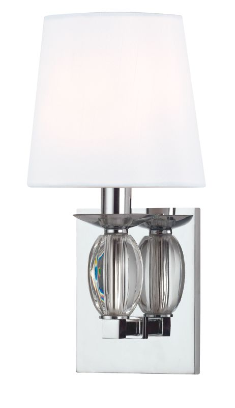 Hudson Valley Lighting 4611 Cameron 1 Light ADA Wall Sconce Polished