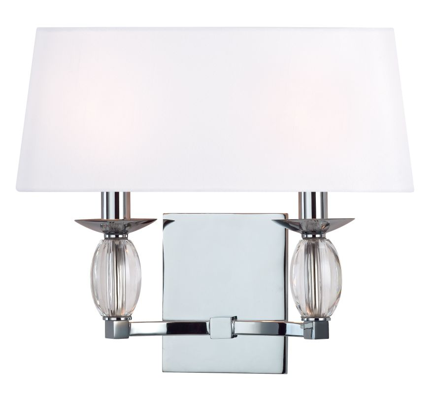 Hudson Valley Lighting 4612 Cameron 2 Light ADA Wall Sconce Polished