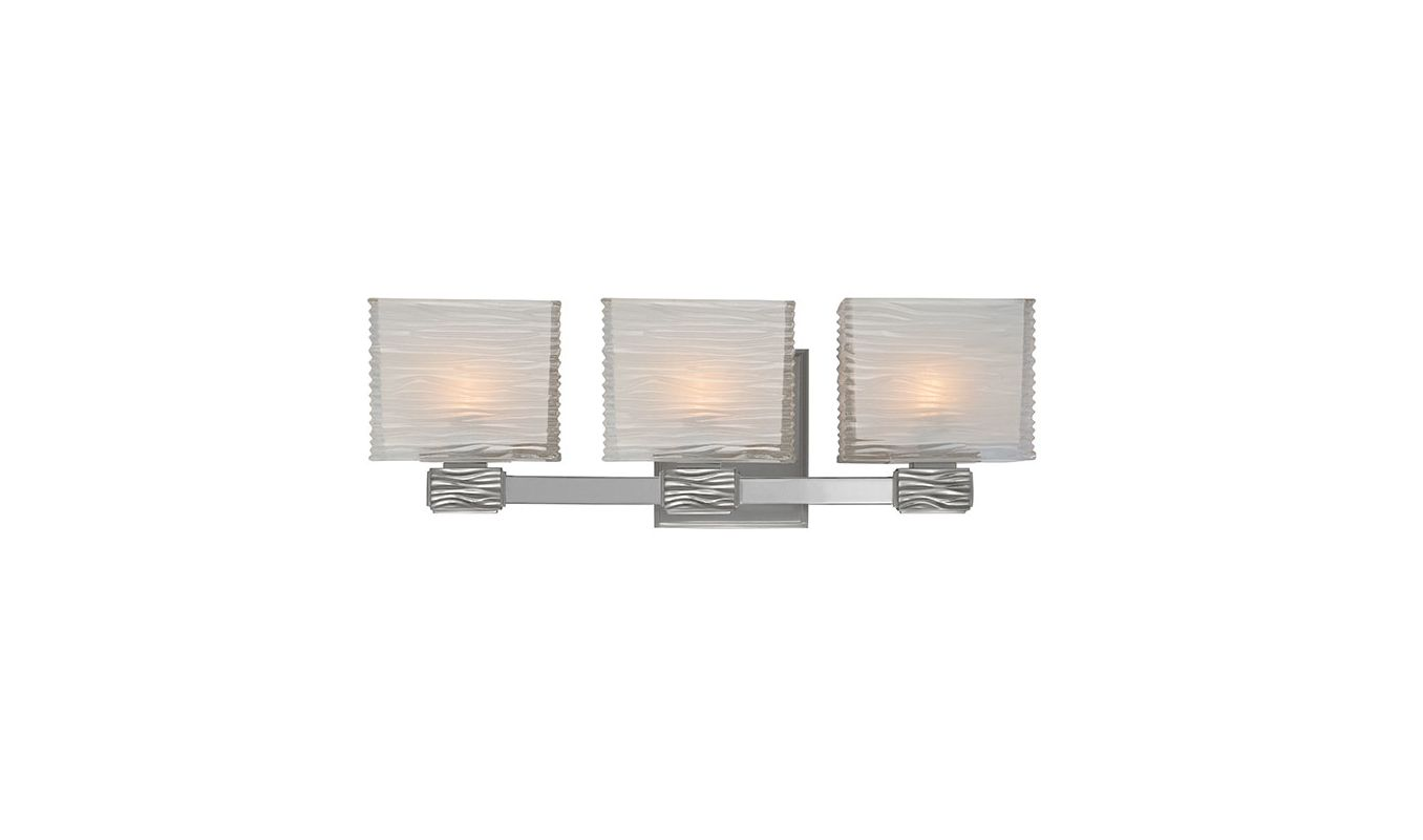 Hudson Valley Lighting 4663 Hartsdale 3 Light Bathroom Vanity Light Sale $376.00 ITEM: bci1737421 ID#:4663-SN UPC: 806134118945 :