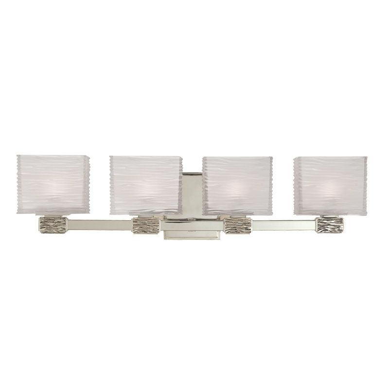Hudson Valley Lighting 4664 Four Light Up Lighting Bath Vanity with Sale $482.00 ITEM: bci1737423 ID#:4664-SN UPC: 806134118976 :