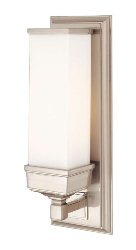 Hudson Valley 471-PN Polished Nickel Industrial Everett Wall Sconce