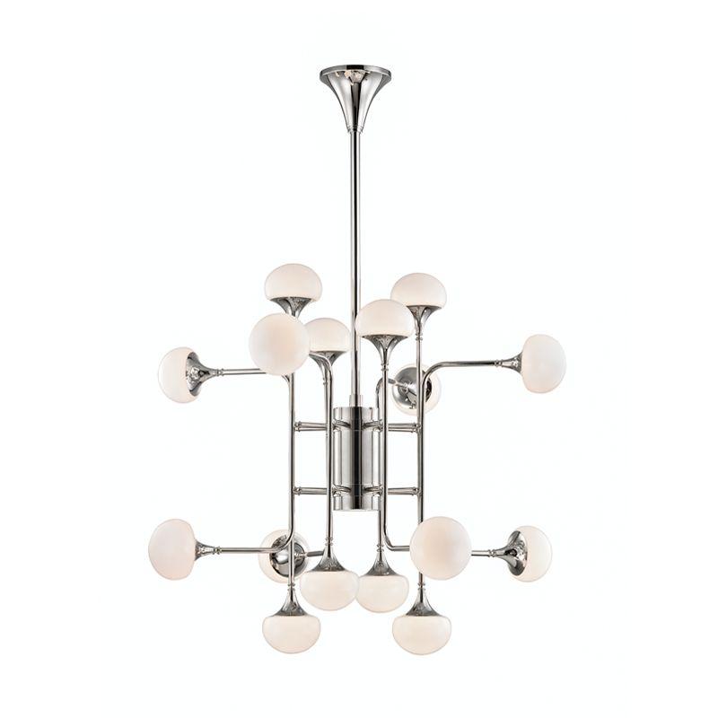 "Hudson Valley Lighting 4716 Fleming 16 Light 36"" Wide LED 2 Tier Sale $2350.00 ITEM: bci3006394 ID#:4716-PN UPC: 806134797614 :"