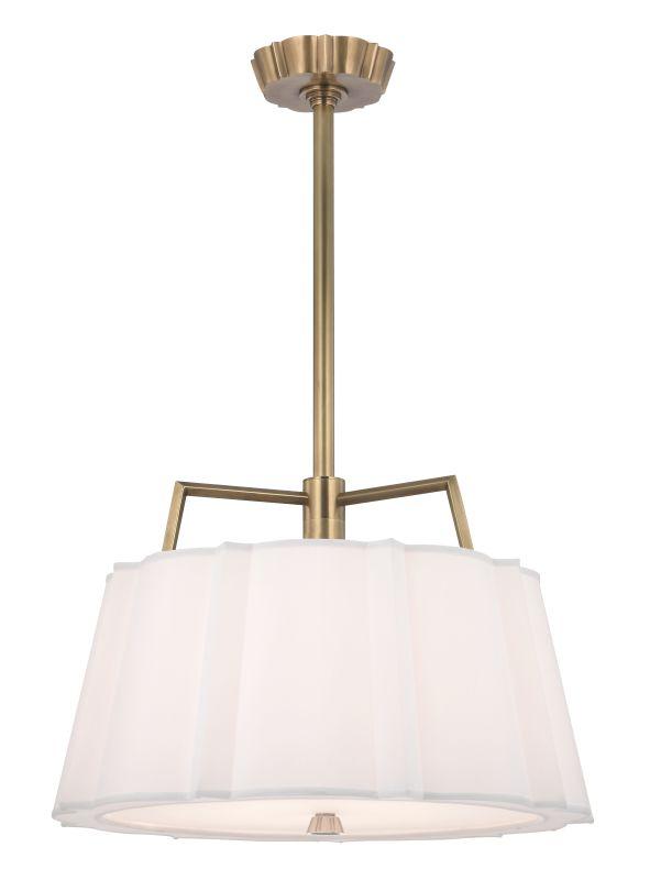 Hudson Valley Lighting 4824 Humphrey 4 Light Large Pendant Aged Brass