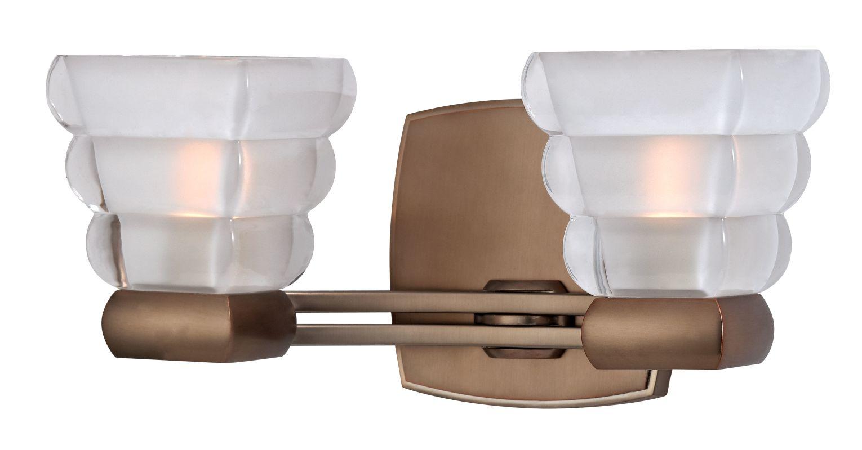 Hudson Valley 5042-BB Bronze Contemporary Warren Bathroom Light