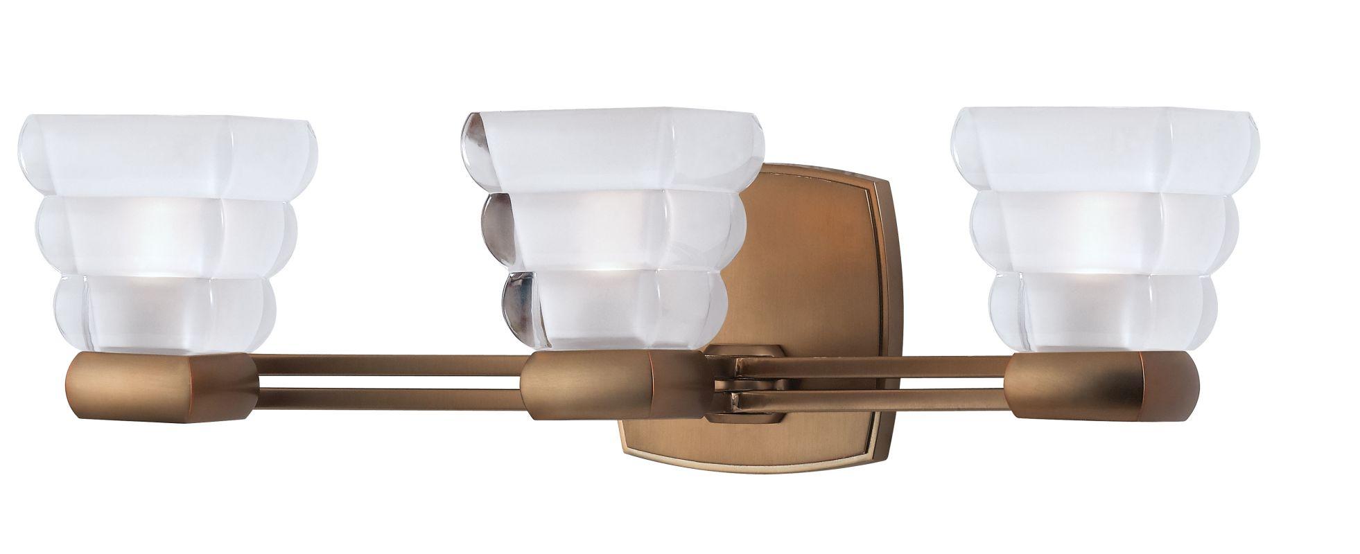 Hudson Valley 5043-BB Bronze Contemporary Warren Bathroom Light