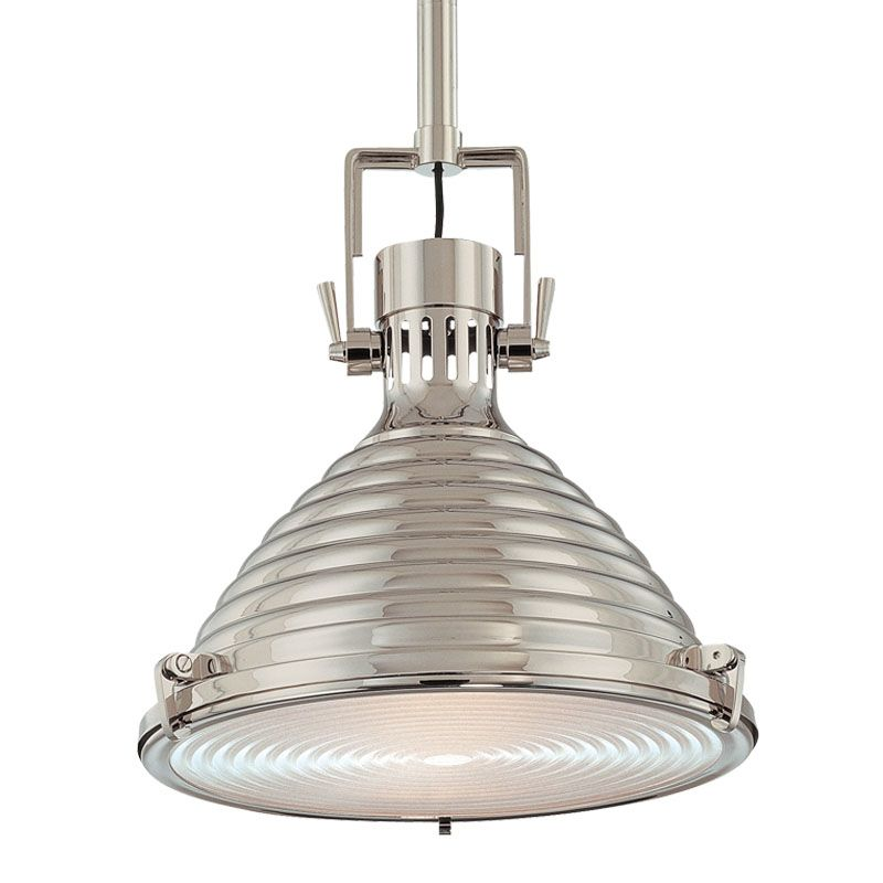 Hudson Valley 5111-PN Polished Nickel Industrial Naugatuck Pendant