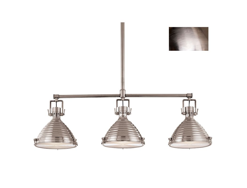 Hudson Valley 5123-AN Antique Nickel Industrial Naugatuck Chandelier Sale $2248.00 ITEM: bci982715 ID#:5123-AN UPC: 806134096458 :