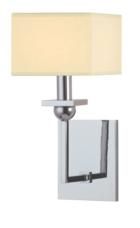 Hudson Valley Lighting 5211 Morris 1 Light Wall Sconce Polished Chrome