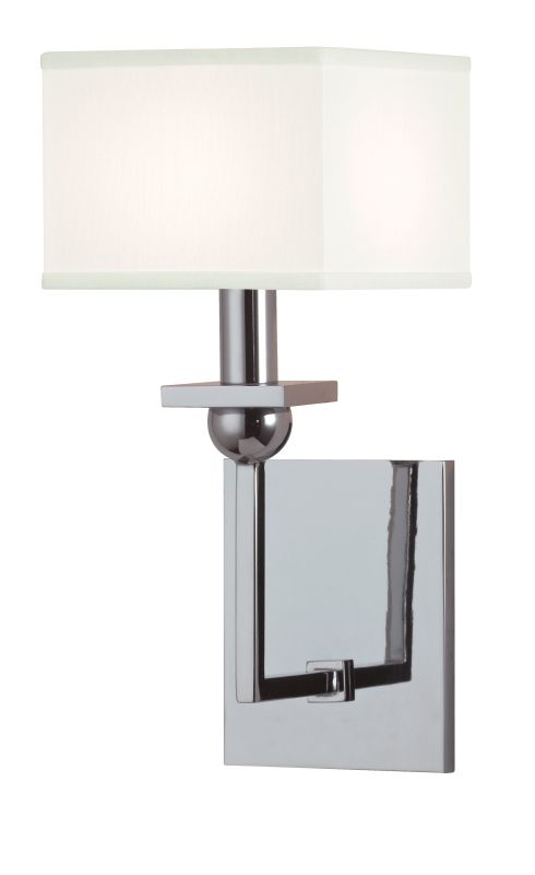 Hudson Valley Lighting 5211-WS Morris 1 Light Wall Sconce with White