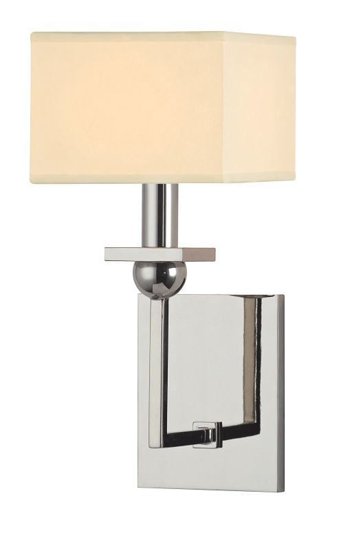 Hudson Valley Lighting 5211 Morris 1 Light Wall Sconce Polished Nickel