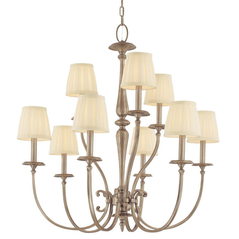 Hudson Valley Lighting 5219 Nine Light Chandelier from the Jefferson Sale $1916.00 ITEM: bci982733 ID#:5219-AN UPC: 806134098285 :