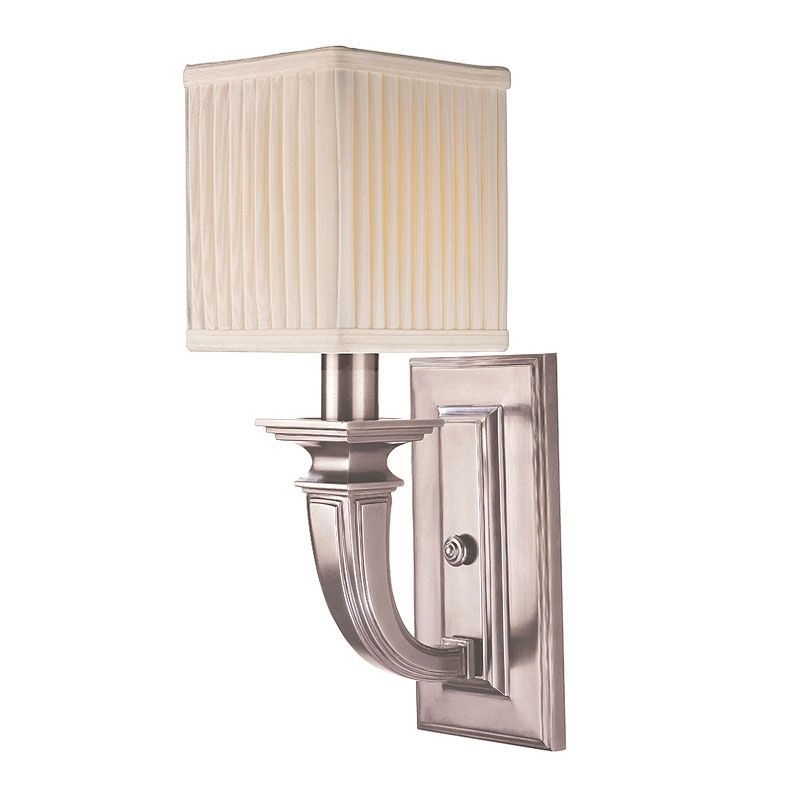 Hudson Valley Lighting 541 Phoenicia 1 Light Solid Brass Wall Sconce Sale $428.00 ITEM: bci1737444 ID#:541-HN UPC: 806134117856 :