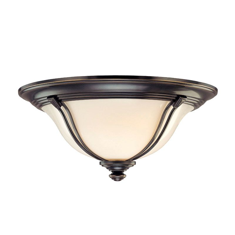 Hudson Valley Lighting 5414 Carrollton 2 Light Flush Mount Ceiling