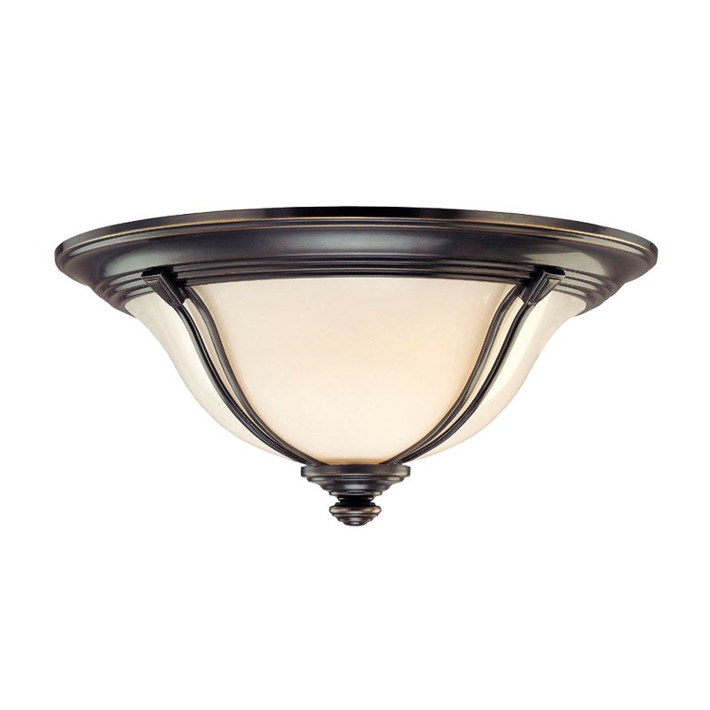 Hudson Valley Lighting 5417 Carrollton 3 Light Flush Mount Ceiling Sale $449.00 ITEM: bci1103420 ID#:5417-OB UPC: 806134106096 :