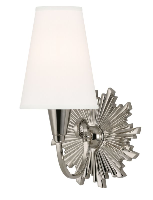 Hudson Valley Lighting 5591-WS Bleecker 1 Light Wall Sconce with White
