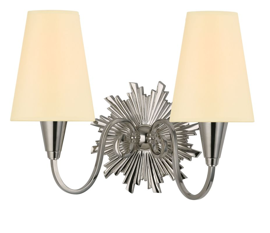 Hudson Valley Lighting 5592 Bleecker 2 Light Wall Sconce Polished