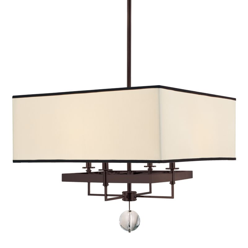 Hudson Valley 5646-OB Bronze Contemporary Gresham Park Chandelier