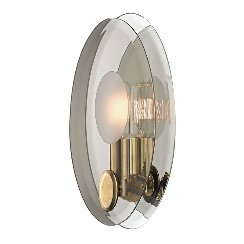 Brilliant World Imports Galway Bath Collection 2Light FlushMount Satin Nickel