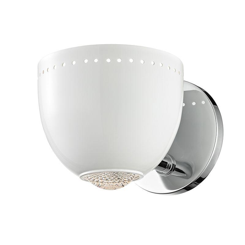"""Hudson Valley Lighting 5811 Emmett Single Light 5"""" Tall Wall Sconce"""