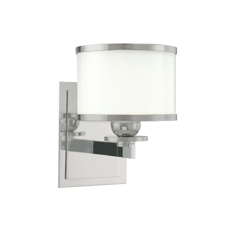 Hudson Valley 6101 Nickel Contemporary Basking Ridge Bathroom Light