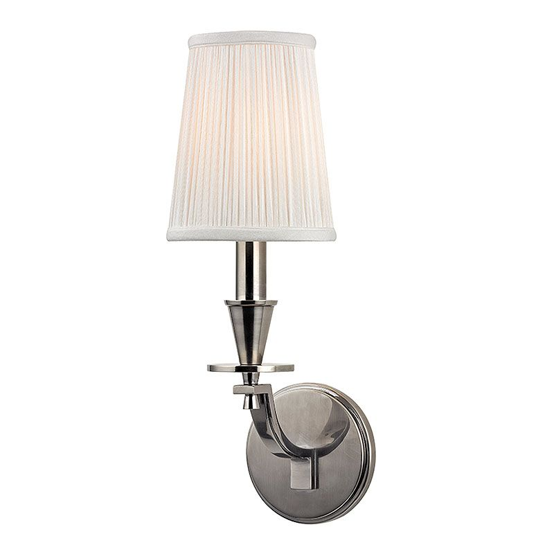 Hudson Valley Lighting 6211 Avalon 1 Light Wall Sconce with Pleated