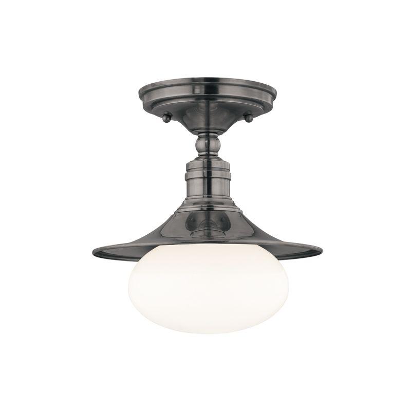 Hudson Valley Lighting 6711 Lawton 1 Light Cast Brass Semi-Flush Mount Sale $160.00 ITEM: bci1737567 ID#:6711-AN UPC: 806134105563 :