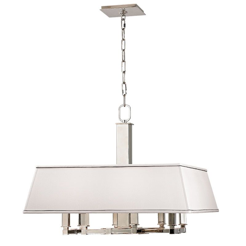Hudson Valley Lighting 7024 Kingston 8 Light Drum Chandelier with Faux