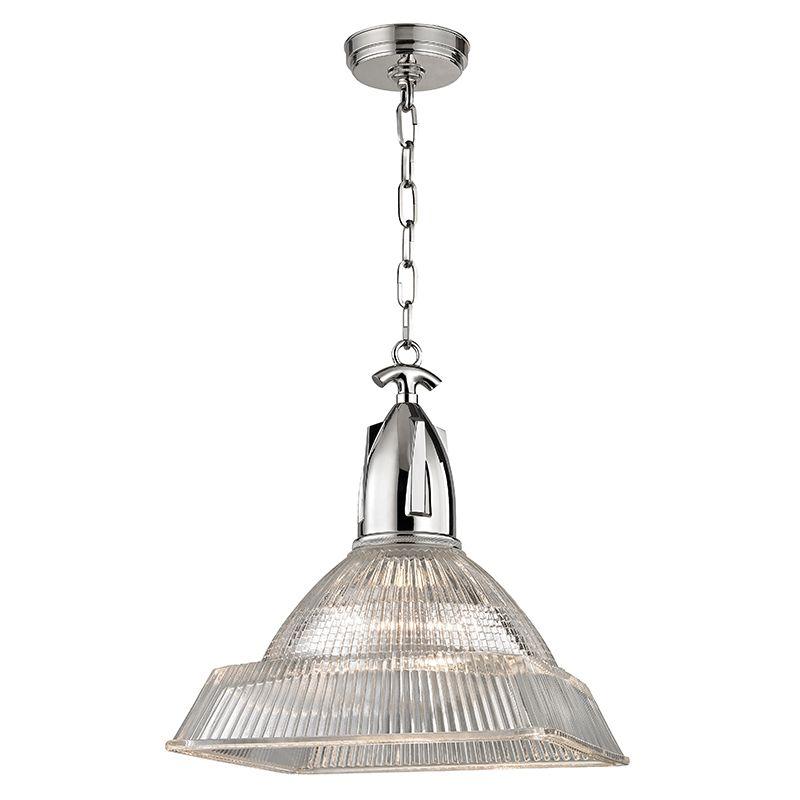 "Hudson Valley Lighting 7114 Langdon Single Light 14"" Pendant with"
