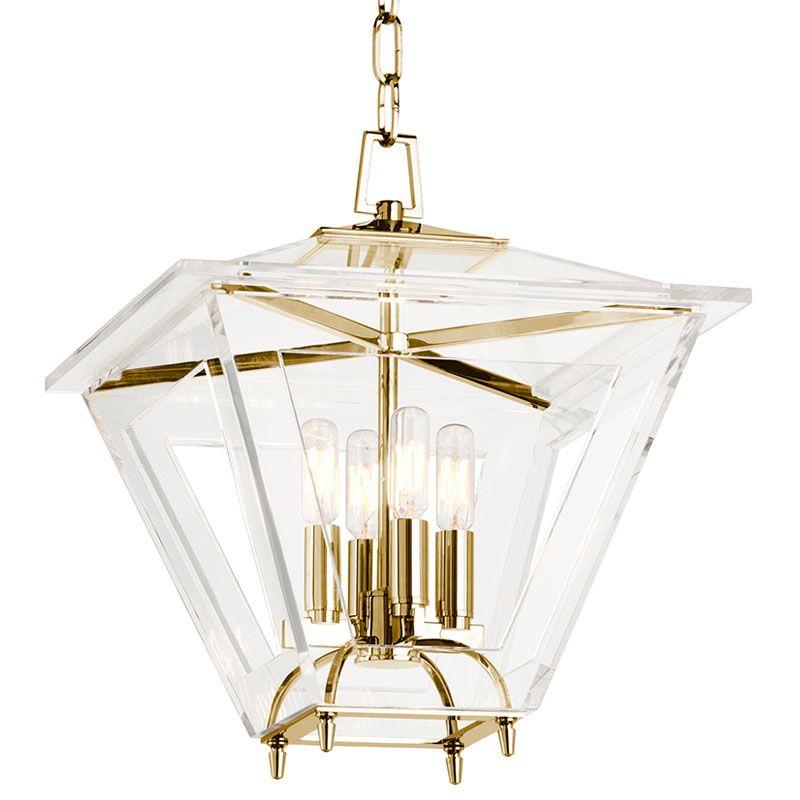 """Hudson Valley Lighting 7415 Andover 4 Light 15"""" Foyer Lantern Pendant"""