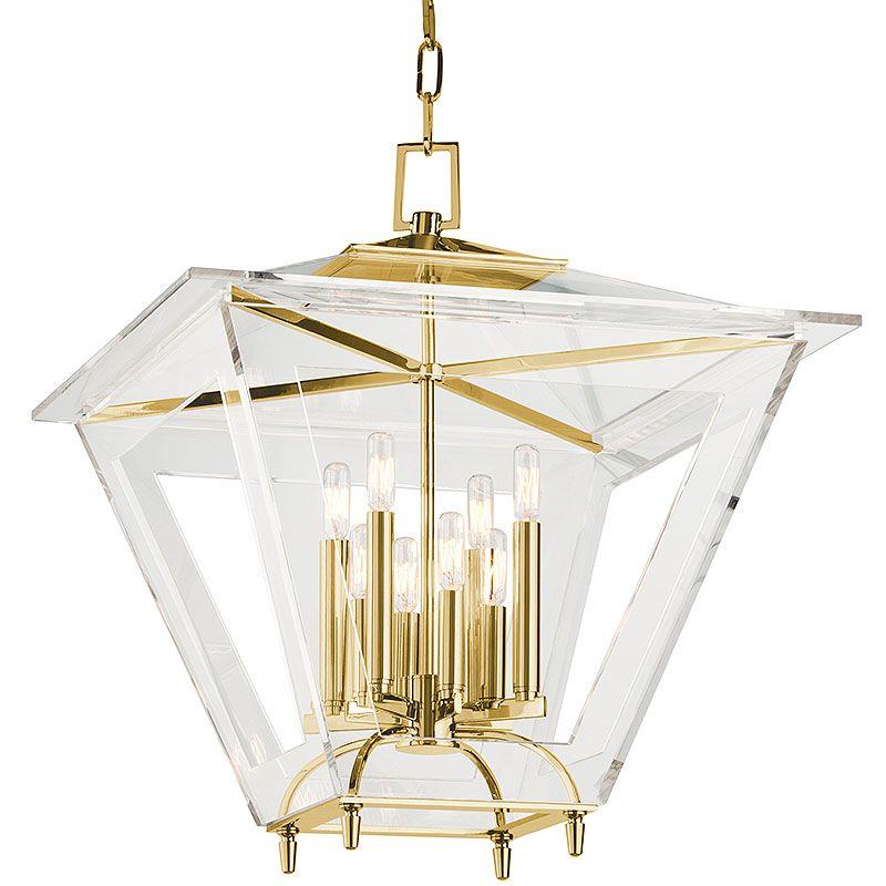 Hudson Valley Lighting 7424 Andover 8 Light Foyer Lantern Pendant with