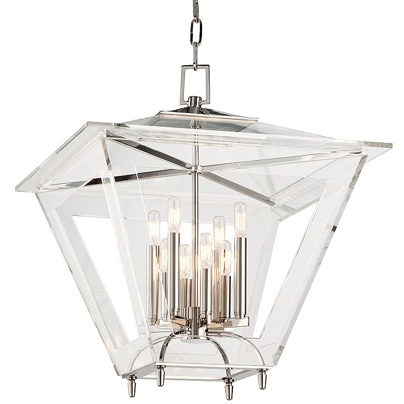 Hudson Valley Lighting 7424 Andover 8 Light Foyer Lantern Pendant with Sale $1140.80 ITEM: bci2402204 ID#:7424-PN UPC: 806134178062 :