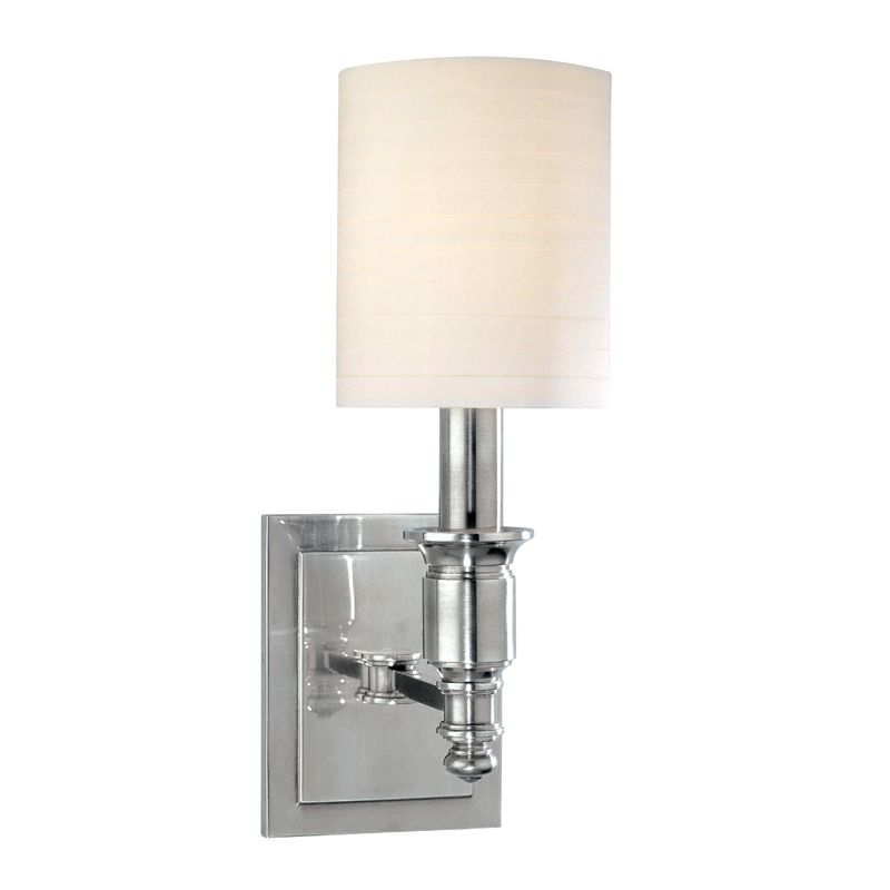 Hudson Valley Lighting 7501 Single Light Up Lighting Wallchiere Style Sale $268.00 ITEM: bci1737631 ID#:7501-PN UPC: 806134125110 :